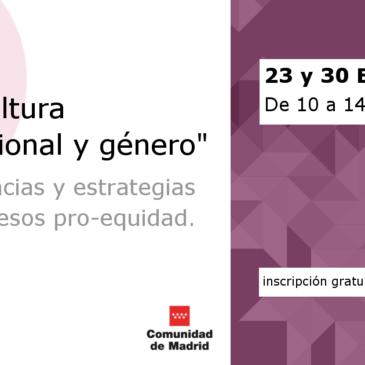 23/30-ENE | Taller sobre cultura organizacional y Género