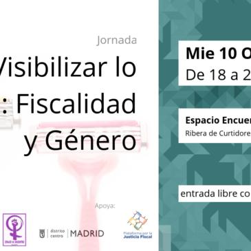 10-OCT | Jornada sobre Fiscalidad y Género